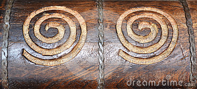 Swirl Wood Carvings