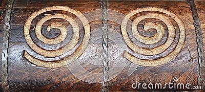 Swirl Wood Carvings