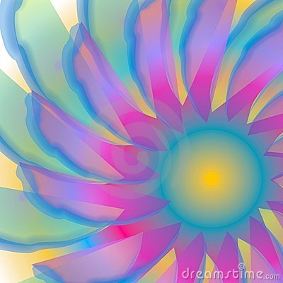 Swirling Blue Swirly Texture
