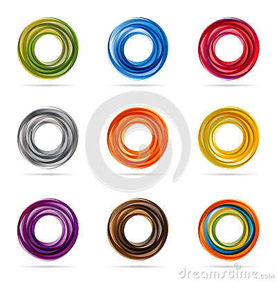Free Swirling Circle Designs Stock Photography - 31710902