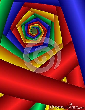 Swirling Twirling Pentagon