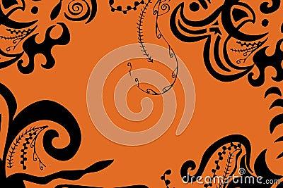 Swirls border