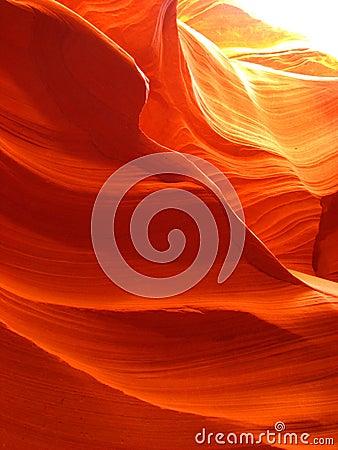 Free Swirls Of Orange Stock Photography - 12372902