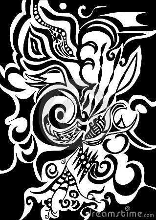 Swirls organic design