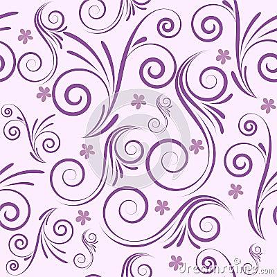 Swirls seamless background