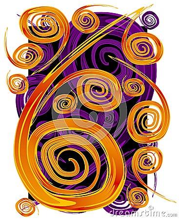 Swirls Spirals Pattern Texture