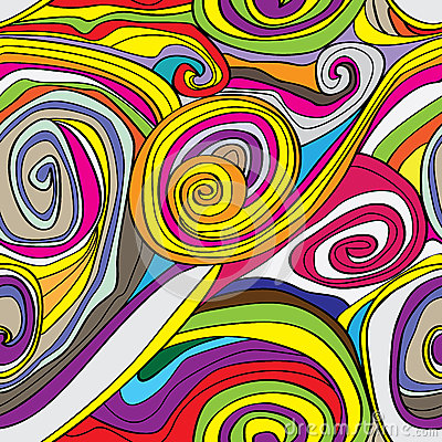 Swirly Drawn Seamless Pattern_eps