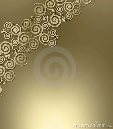 Swirly metallic background