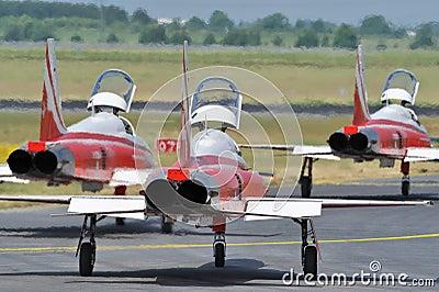 Swiss air jets