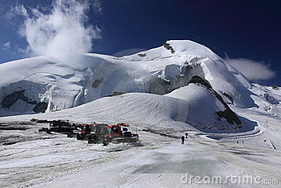 Swiss alps Editorial Stock Photo