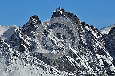 Swiss Alps: Aiguille de la Tsa
