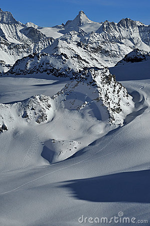 Swiss Alps Wilderness skiing