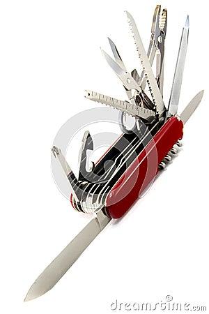 Free Swiss Army Knife Stock Image - 3074021