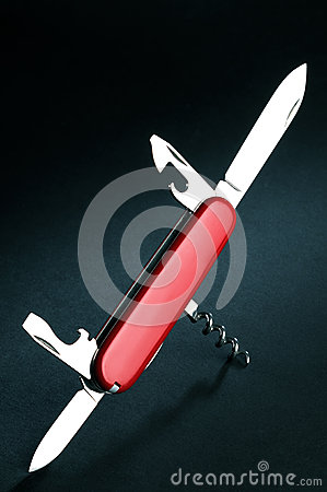Free Swiss Army Knife Stock Images - 53653274
