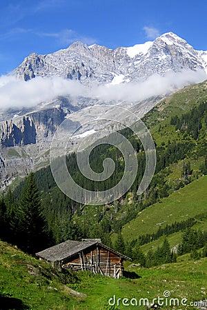 Free Swiss Chalet Stock Photos - 15403003