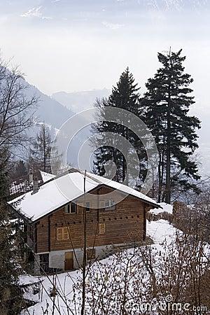 Free Swiss Chalet Stock Photo - 519280