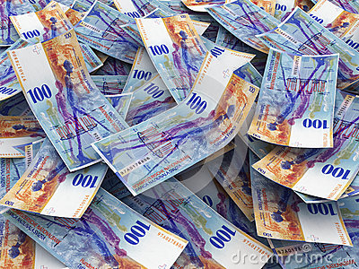 Swiss Currency Bank Notes