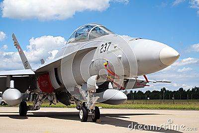 Swiss F-18 Editorial Image