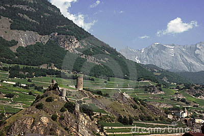 Swiss fortified Village