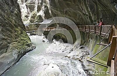 Swiss Gorges du Trient