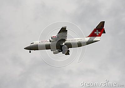 Swiss International Air Lines Editorial Stock Photo