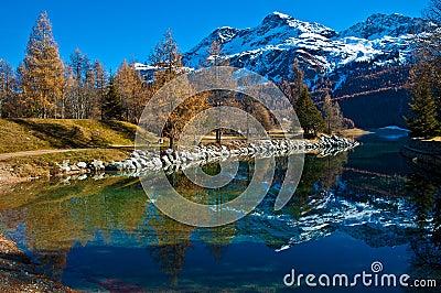 Swiss Lake Silvaplana