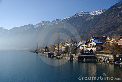 Swiss Lakeside Chalets