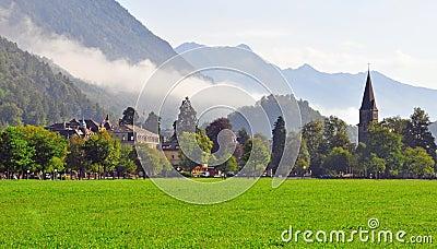 Swiss landscape, Interlaken