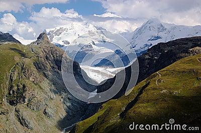 Swiss mountain landscape