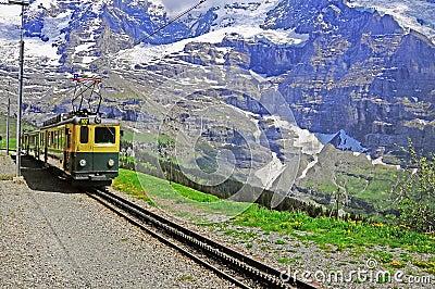 Swiss railways.