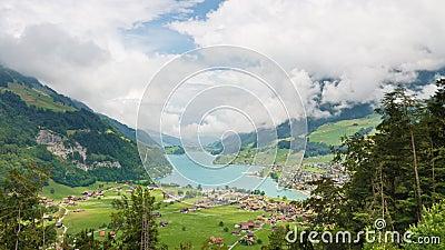 Swiss Scenery, Lungerersee, Obwalden, Switzerland