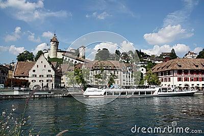 Swiss Town Schaffausen