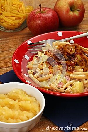 Swiss traditional Alplermagronen