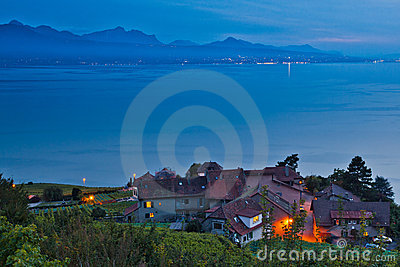 Swiss Village at Lavaux Vineyard Terrace