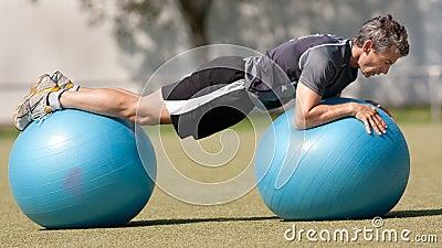 Swissball training