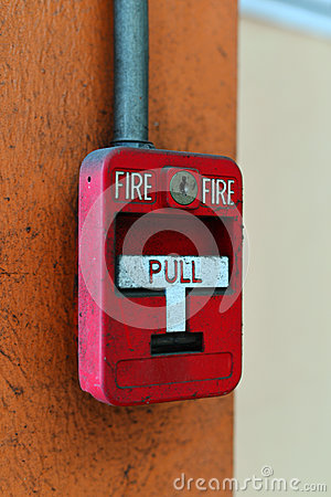 Free Switch Fire Alarm On Brick Wall Royalty Free Stock Photo - 52123095