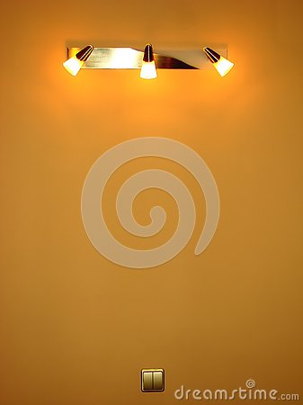Switched on sconce