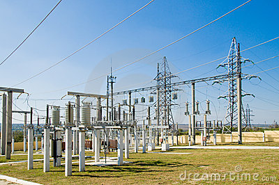 Switching substation