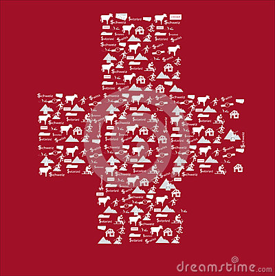 Free Switzerland Icon Flag Royalty Free Stock Photography - 39421227