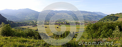 Switzerland Valley Royalty Free Stock Photography - Image: 25575917