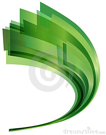 Swoosh verde