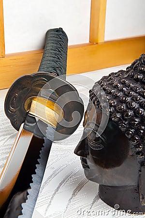 Sword and buddha