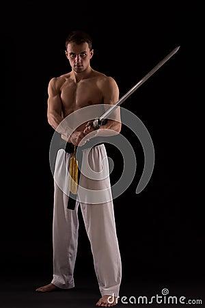 Free Sword Master Stock Image - 53359761
