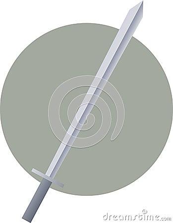 Sword weapon illustration