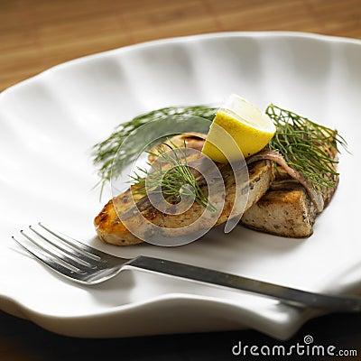Swordfish steak