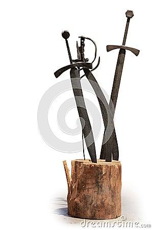 Free Swords Stock Photo - 43509620