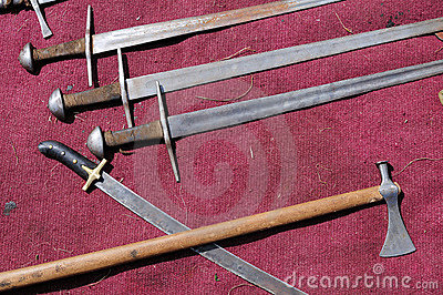 Swords and battle-axes