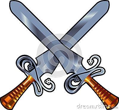 Swords cross