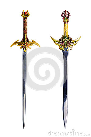 Swords isolated