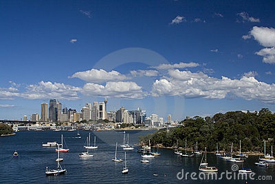 Sy City Waverton Day Royalty Free Stock Photos - Image: 13777958